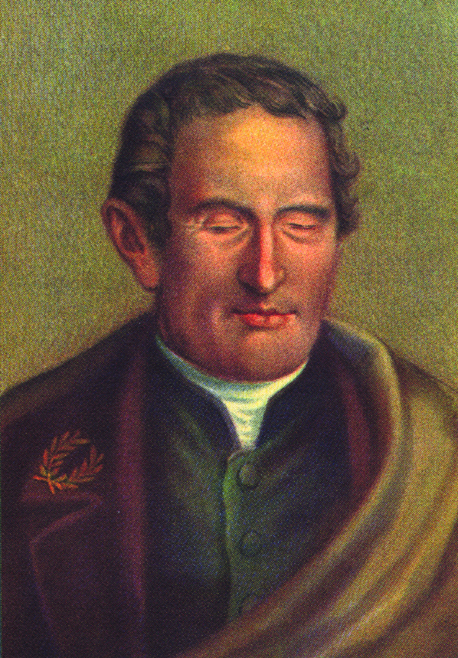 painting of Louis Braille